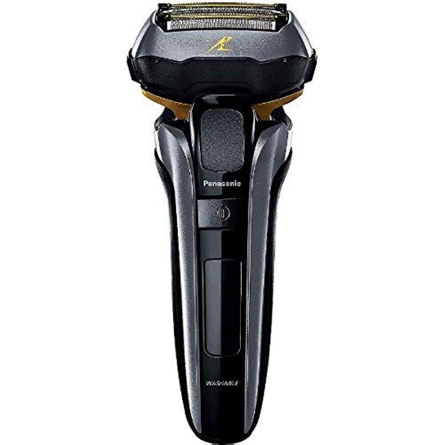 担保窓を洗うスタックパナソニック 電気シェーバー (黒)Panasonic ラムダッシュ 【5枚刃】 ES-LV5C の限定モデル ES-CLV5C-K