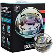 Sphero BOLT | App-Enabled Robotic Ball | STEM Learning and Coding for Kids, Programmable LED Matrix, Bluetooth
