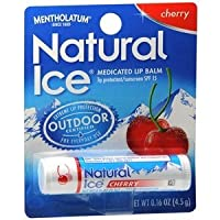 Natural Ice SPF15 Cherry Flavor Lip Balm 3 Pack by Unique Sports Accessories