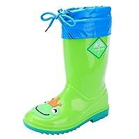 [snofiy] レインブーツ キッズ 子供靴 女の子 男の子 長靴 ジュニア ボア取り出し可能 梅雨対策 通学 オールシーズン適用