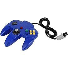 QUMOX Game Controller Joystick for Nintendo 64 N64 System GamePad Blue