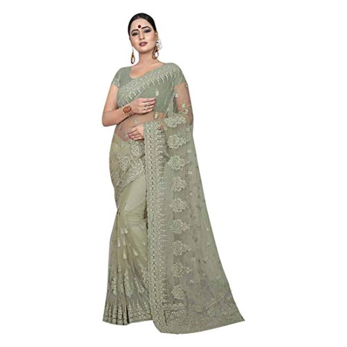 忌まわしいワックスばかげているIndian Net Saree カクテルファンシーネットデザイナースレッド刺繍作業サリーブラウス女性パーティーウェアサリーチョリ 8511