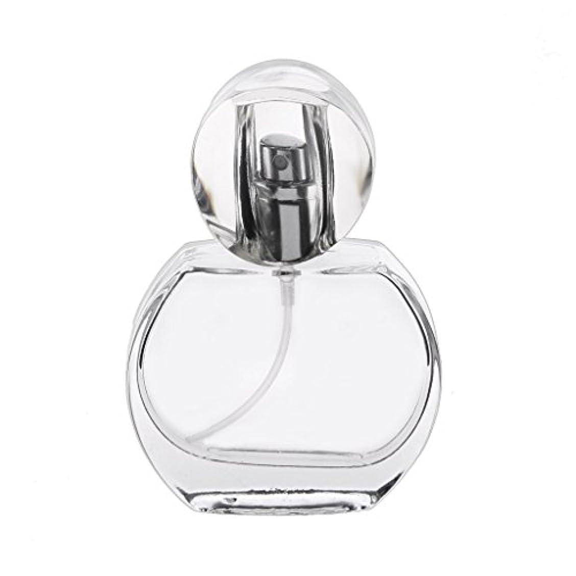 いらいらさせる舞い上がるビルダー30ml クリスタル エンプティ 空 香水瓶 スプレーボトル アトマイザー 詰め替え 携帯便利
