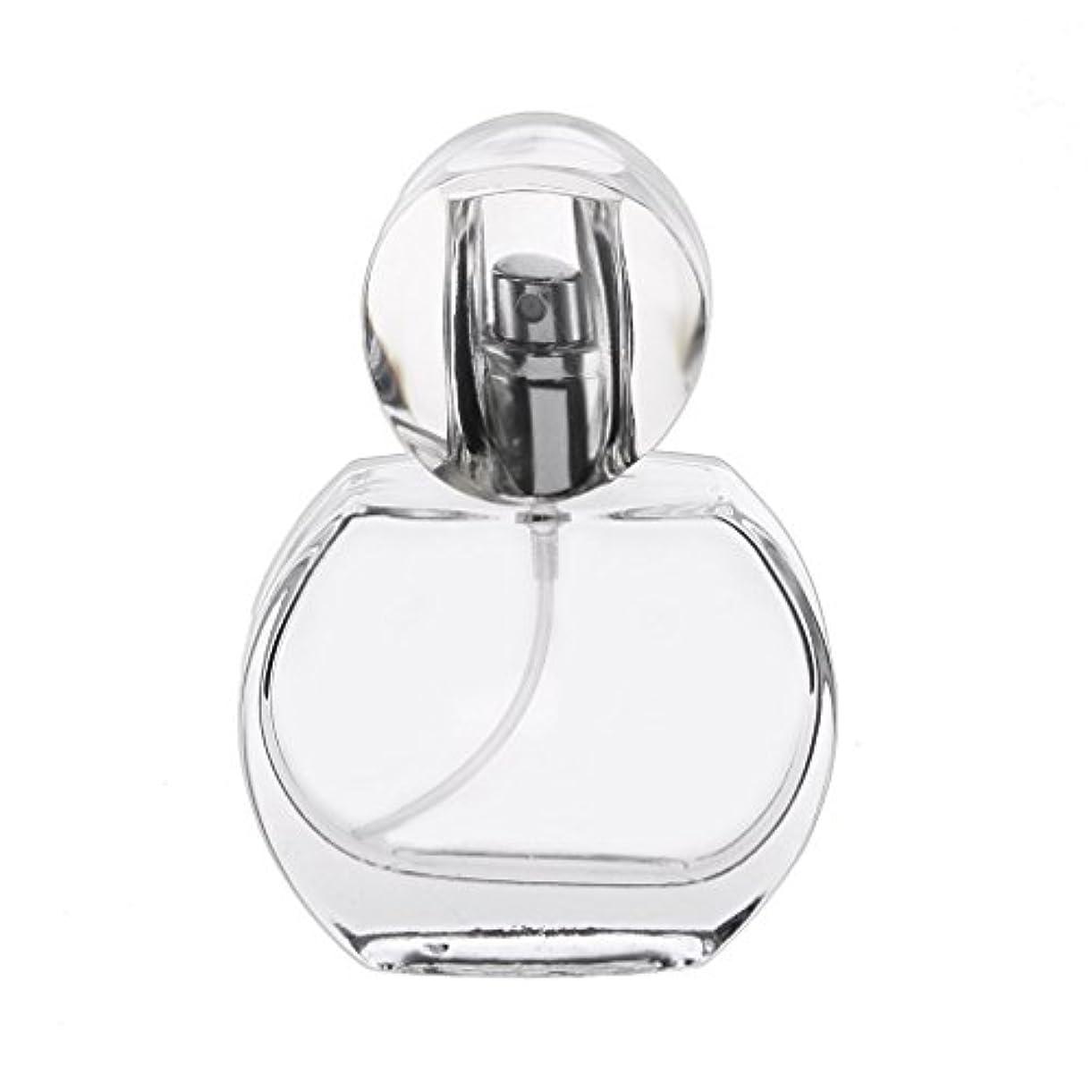 故障中火うま30ml クリスタル エンプティ 空 香水瓶 スプレーボトル アトマイザー 詰め替え 携帯便利