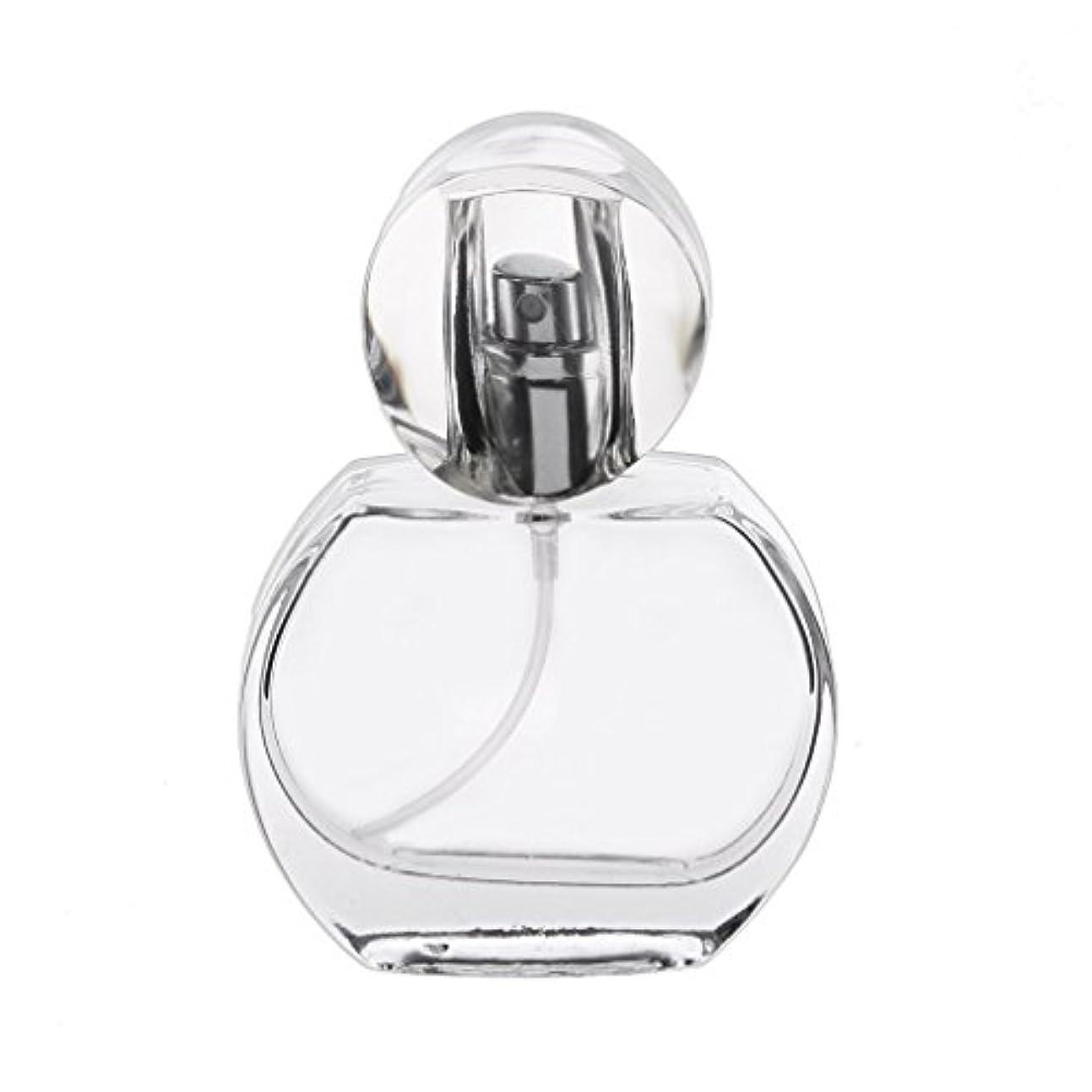 袋蓋臨検30ml クリスタル エンプティ 空 香水瓶 スプレーボトル アトマイザー 詰め替え 携帯便利