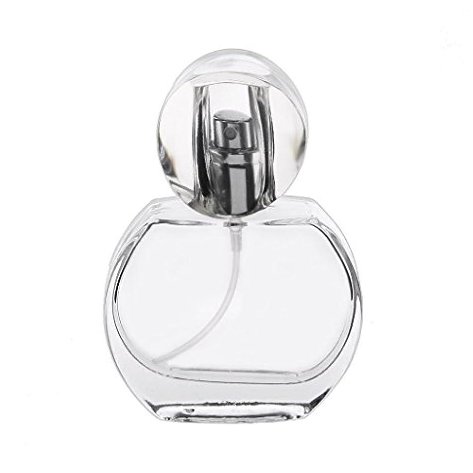 排除ダブルいたずらな30ml クリスタル エンプティ 空 香水瓶 スプレーボトル アトマイザー 詰め替え 携帯便利