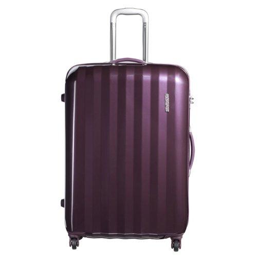 [アメリカンツーリスター] AmericanTourister スーツケース PRISMO プリズモ スピナー75 無料預入受託サイズ 保証付 保証付 82L 75cm 4.7kg 41Z*91003 91 パープル