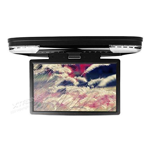(CR1506)15.6インチ 大画面 超高画質 フリップダウン DVDプレーヤー モニター 12V...