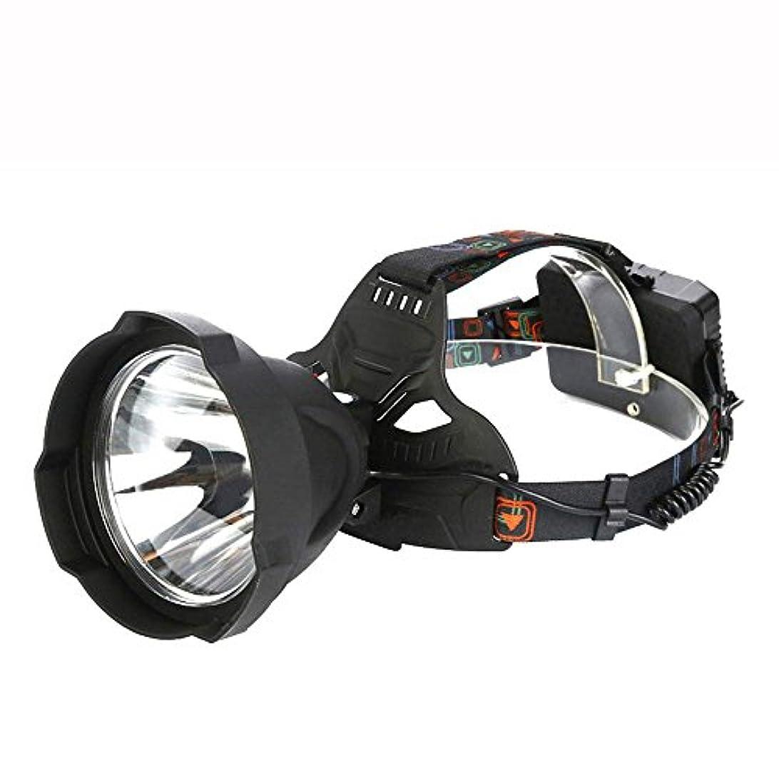 不適切な臨検豊富XIAOBUDIAN スーパー明るい15000lums USB充電式LEDヘッドランプヘッドランプ強力な防水屋外照明ヘッドライト3 * 18650バッテリー、黄Guang