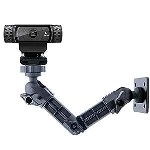 C920 ウォールマウント ロジテック ウェブカメラマウント ロジテック C925e C922x C920 C930e C922 C930 C615 Brio 4K アセタケン