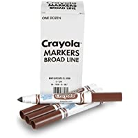Crayola 12 Count Washableバルクマーカー 58-7800-007