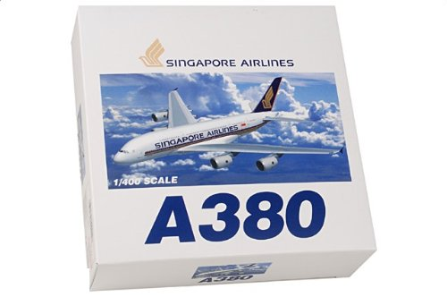 1:400 ドラゴンモデルズ 55555 エアバス A380-800 ダイキャスト モデル シンガポール 航空 MSN 3【並行輸入品】