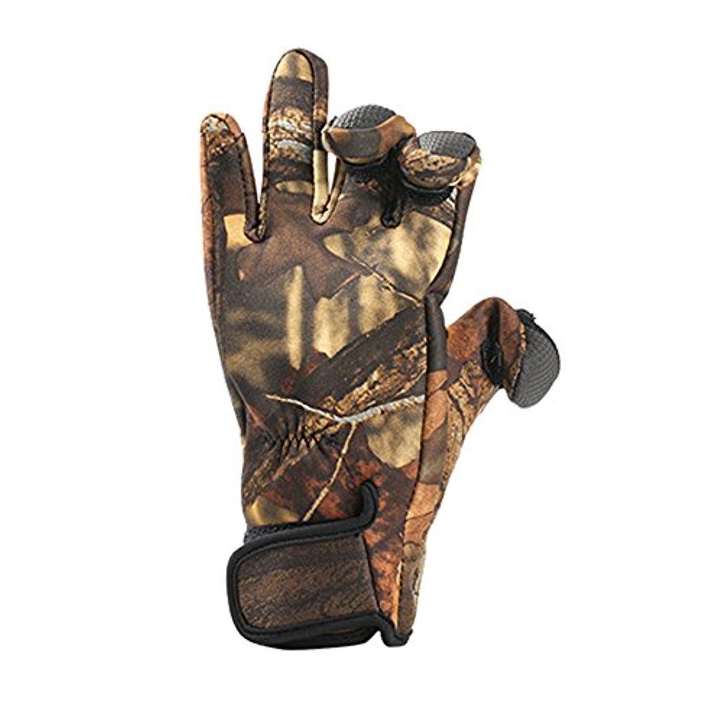 直径用語集欲しいですAuntwhale 冬のダイビング釣り手袋 防水アンチスリップ 暖かい防風屋外狩猟ハイキング 贈り物 ( 1ペア )