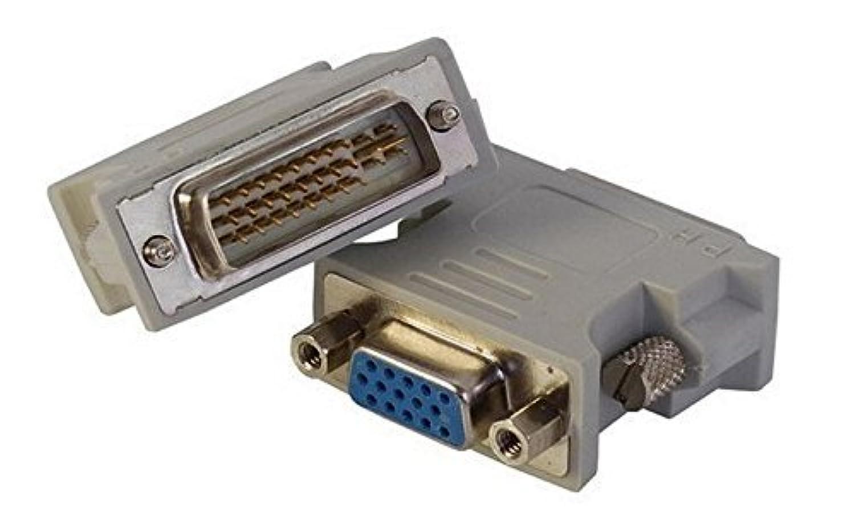(コーポレートコンピューター) Corporate Computer デュアルリンクDVI-VGA変換アダプター 24+5オス