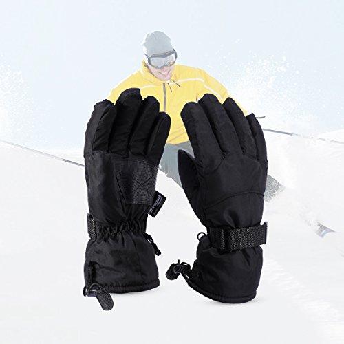 LANMU グローブ スキー 手袋 防寒...