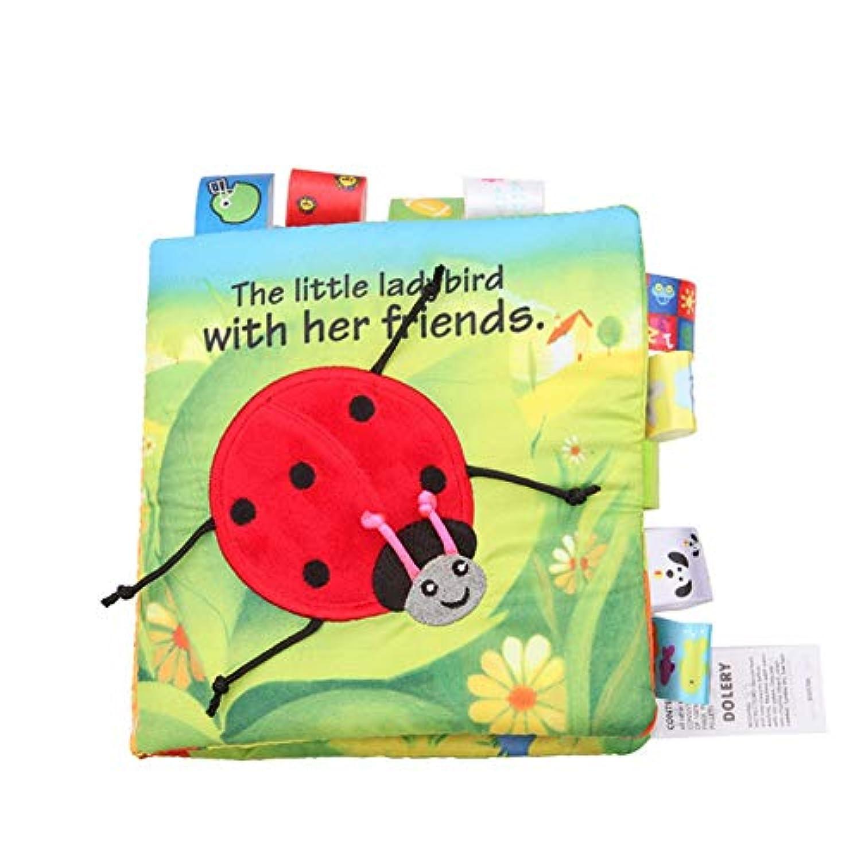 Wenasi ソフトブック 幼児 アニマル柄 布本 ベビー グッドナイト 教育用布製本 認知玩具