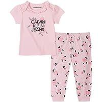 CALVIN KLEIN Baby Girls 2 Pieces Pants Set