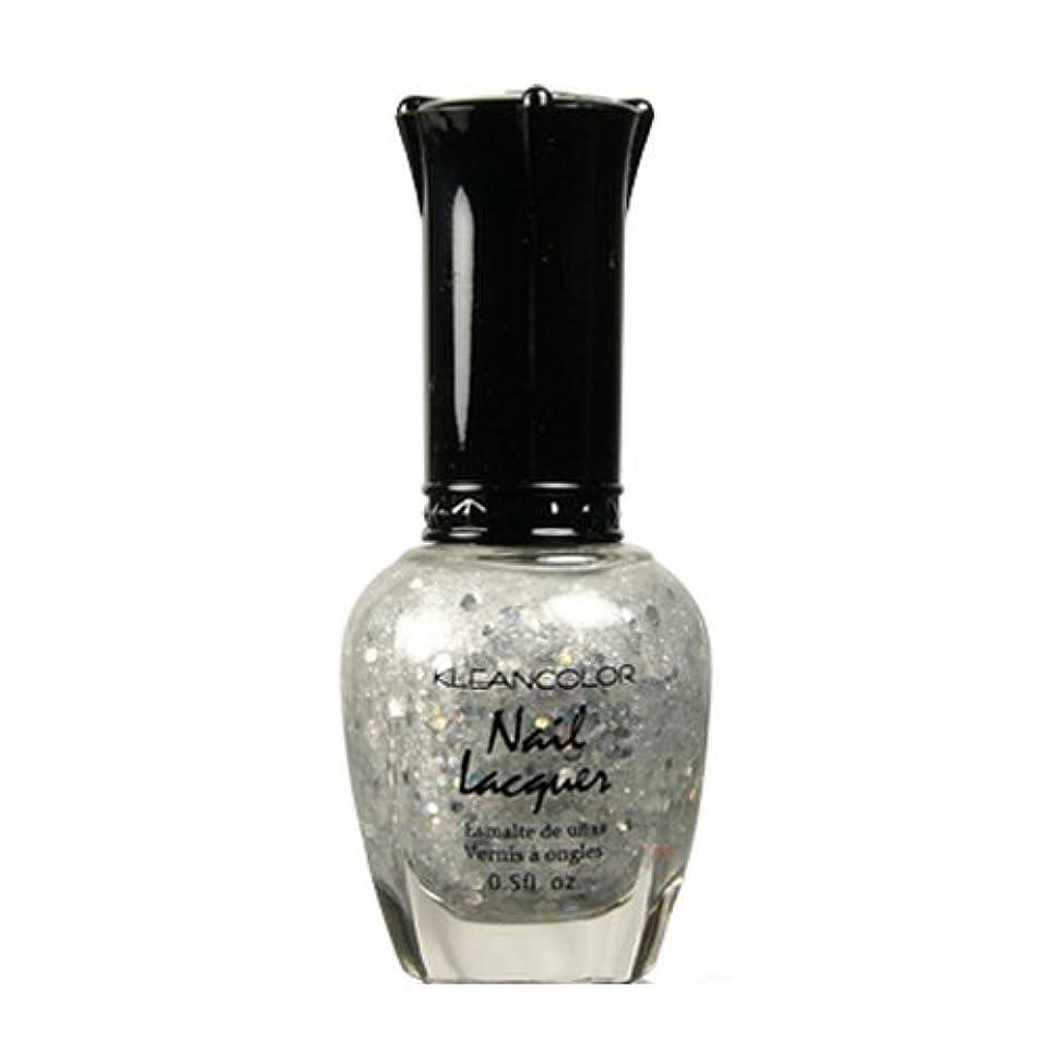 報告書欠乏浸食(3 Pack) KLEANCOLOR Nail Lacquer 4 - Bridal Shower (並行輸入品)