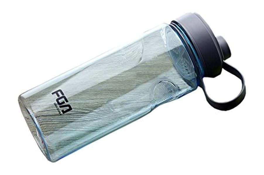 ショッピングセンター笑いターミナル1000ML / 34 OZ漏出防止屋外水ボトルポータブルスポーツウォーターボトル蓋付きブルー#17