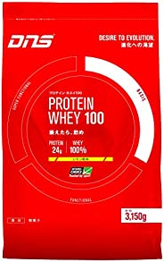 DNS プロテイン ホエイ100 レモン風味 3150g(約90回分) 大容量 たんぱく質 筋トレ