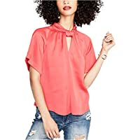 RACHEL Rachel Roy Women's Keyhole Twist-Neck Top