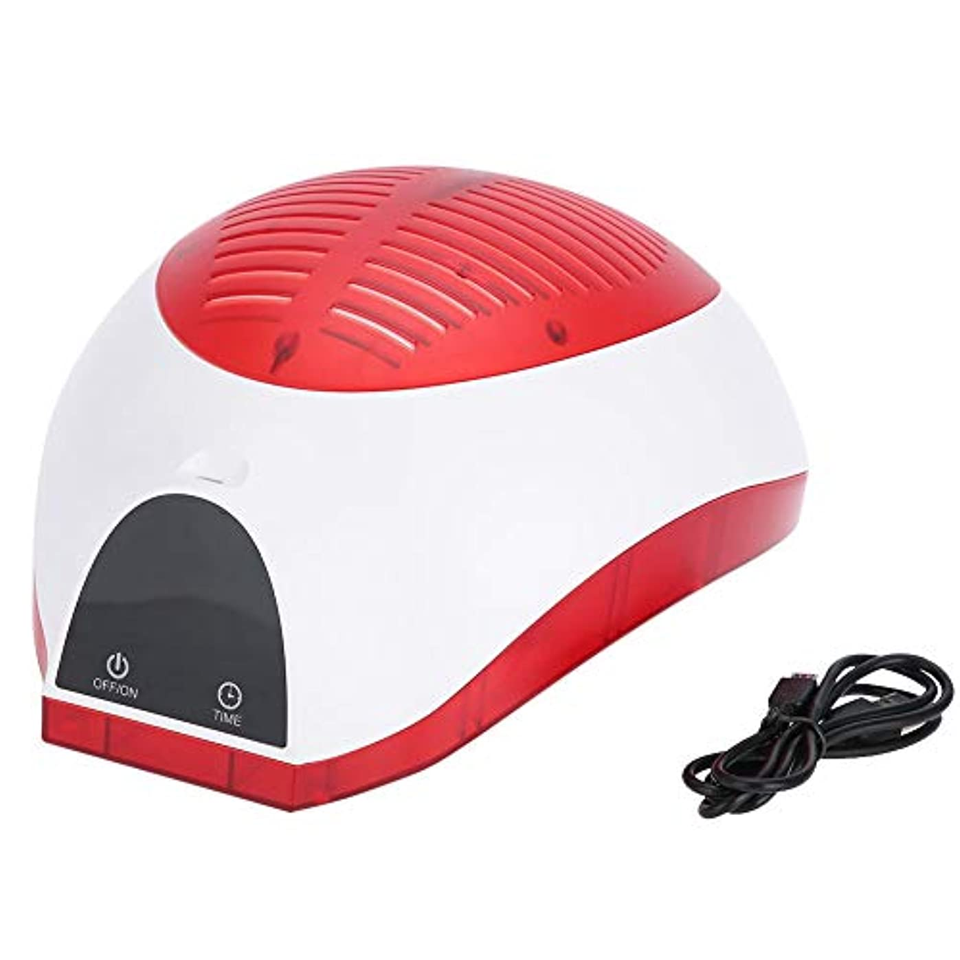スツールスペース細胞レーザー発毛、USB発毛再成長ヘルメット脱毛キャップの削減ヘアトリートメントキャップヘルメット、脱毛治療、ヘアグロー