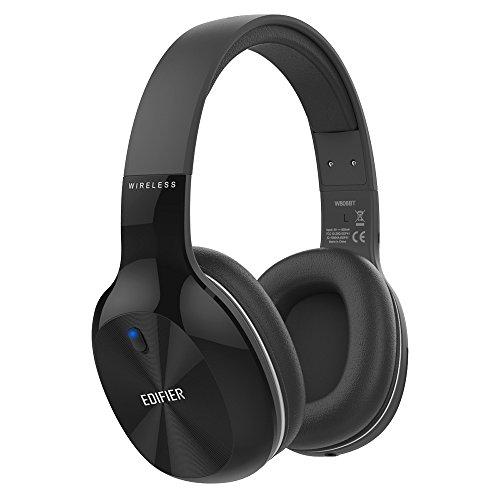 [해외]Edifier W806BT Bluetooth 헤드폰 무선 경량 70 시간 재생 고음질 Hi-Fi 스테레오 내장 마이크 헤드폰 핸즈프리 통화 iphone X PC Mac 등에 대응 헤드셋/Edifier W806BT Bluetooth headphone Wireless light weight 70 hours playback High sound qu...