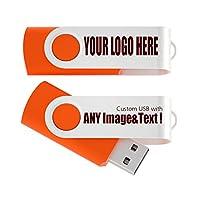 USB 2.0フラッシュドライブパックSwivelデザインメモリスティックFoldストレージキー親指ドライブペンカスタマイズされたロゴPromoギフト 4GB ATU-001