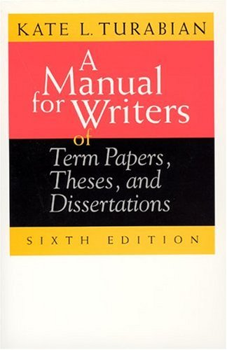 Download A Manual for Writers of Term Papers, Theses, and Dissertations (Chicago Guides to Writing, Editing & Publishing) 0226816273