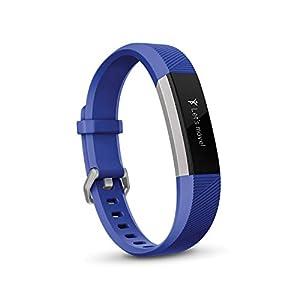 Fitbit フィットビット フィットネスリストバンド Ace キッズ専用 運動 睡眠 健康管理 活動量計 Electric Blue/Stainless Steel ワンサイズ【日本正規品】 FB411SRBU-CJK