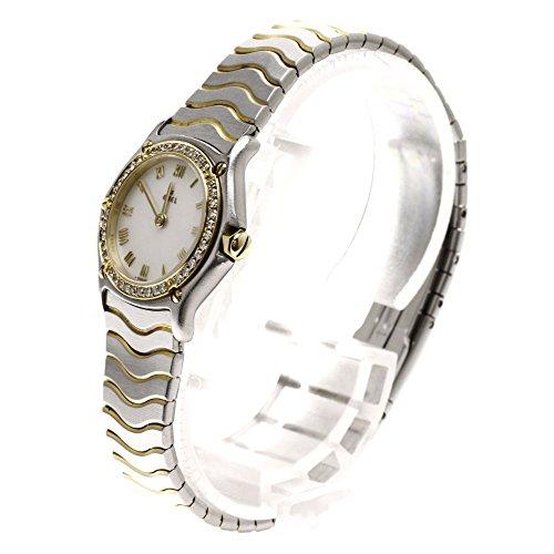 EBEL(エベル) 1057902 クラシック ウェーブ 腕時計 ステンレス/YG/ダイヤモンド レディース (中古)