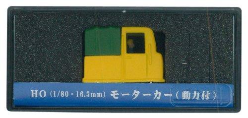 津川洋行 HOゲージ 18003 モーターカー トラック 黄色  動力付