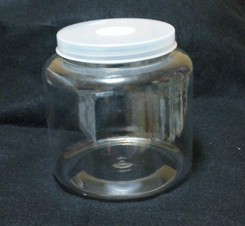 空クリアボトル 2300ml×バラ1本(穴あけ加工済、フィルター付き)