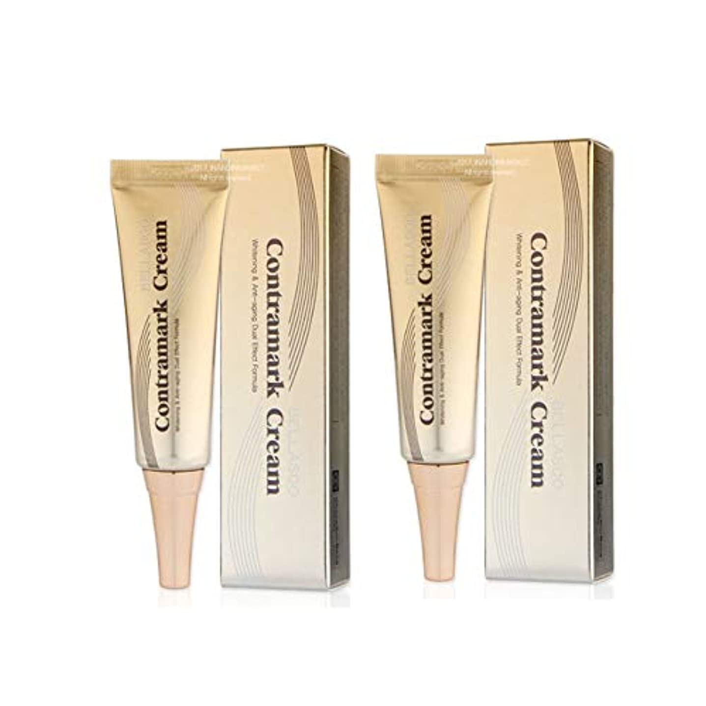 画像評決擬人化鍾根堂ベラシュコントラマーククリーム20gx2本セットシミ?ソバカス韓国コスメ、Chong Kun Dang Bellasoo Contramark Cream 20g x 2ea Set Melasma Cream Korean Cosmetics [並行輸入品]