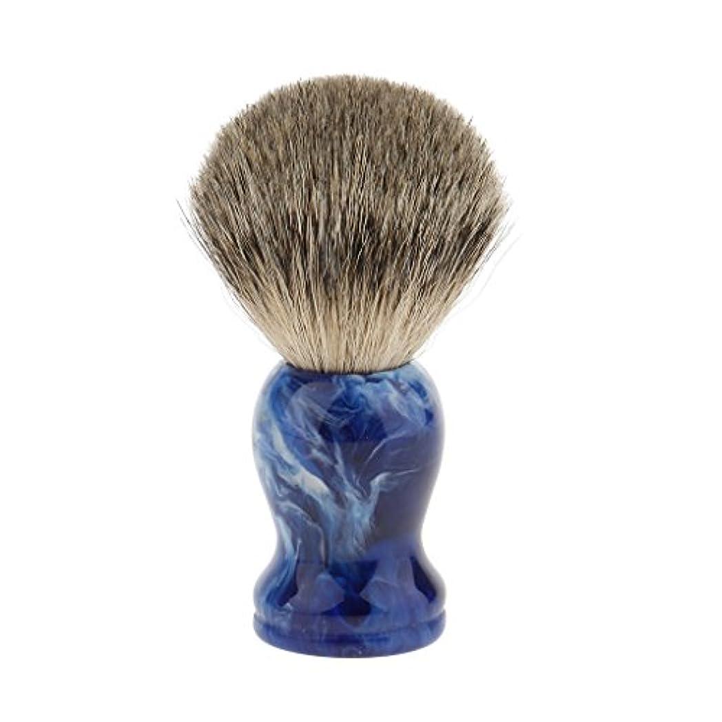 デコードする財団修正シェービングブラシ 理髪師 ひげ クリーニングツール プロ サロン 家庭 個人用