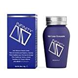 Infinity Hair Fiber - Hair Loss Concealer - Hair Thickening Fiber for Men & Women - Black, 15g