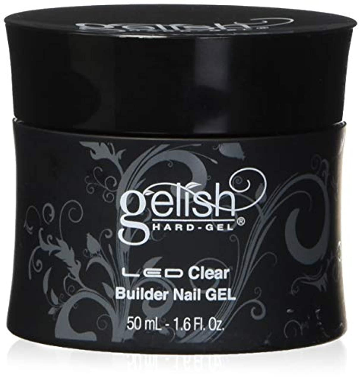 後ろ、背後、背面(部サイレンバスHarmony Gelish LED Hard Gel - Clear Builder - 1.6oz / 50ml