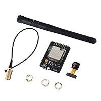 Hobbyant?ESP32-CAM WiFi + Bluetoothカメラモジュール開発ボードESP32とカメラモジュールOV2640 IPEX 2.4G SMA Arduino用アンテナ
