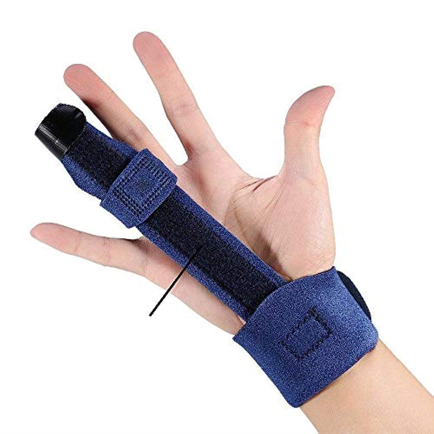 ダーツどちらかするだろうZYL-YL 固定調節可能な手のブレースの手首のラップハンドスプリント手首スプリントアルミニウム板 (Edition : Right)