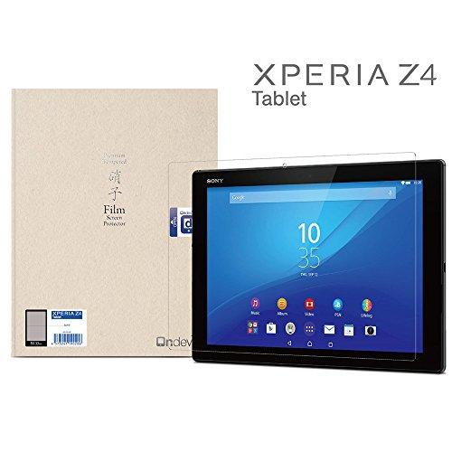 Xperia Z4 Tablet ガラスフィルム カメラ穴なし 国産ガラス採用 強化ガラス製 液晶保護フィルム SONY ソニー 厚さ0.33mm 2.5D 硬度9H ラウンドエッジ加工 on-device