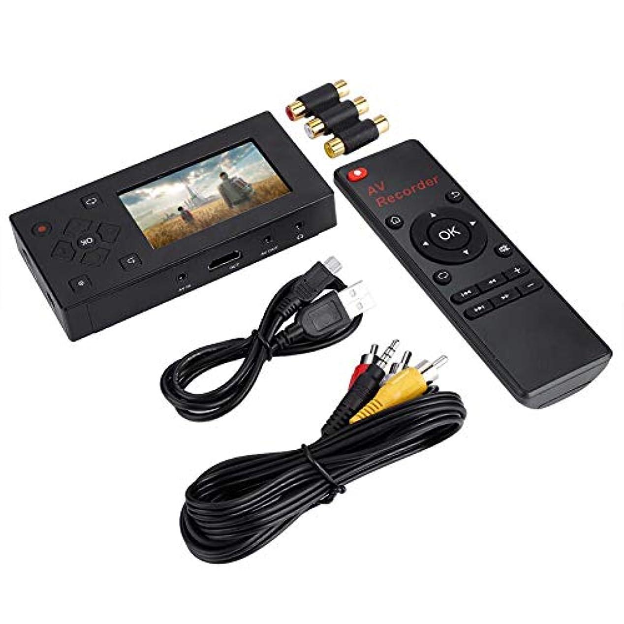 苦い困惑騙すカムコーダーAVレコーダーテープコンバーター 簡単ビデオダビング 液晶搭載ビデオレコーダー テープカメラ用テーププレーヤー用