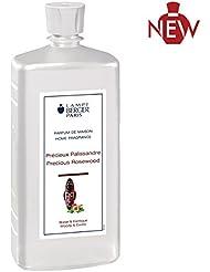ランプベルジェパリ直輸入パフュームアロマオイルローズウッド1Lの香り(香水の世界では大変珍しいパリサンダー(アフリカ原産のローズウッド)を繊細に表現した、エキゾチックで力強いフレグランスです。)◆正規輸入品◆Lampe...