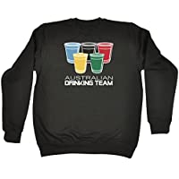 123t Australian Drinking Team Glasses - SWEATSHIRT