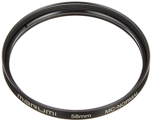 MARUMI カメラ用フィルター 保護用フィルター 58 mm 無色透明 MC-58A
