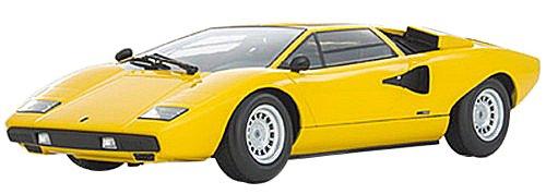 Ousia 1/18 Lamborghini Countach LP400 Amarillo producto terminado