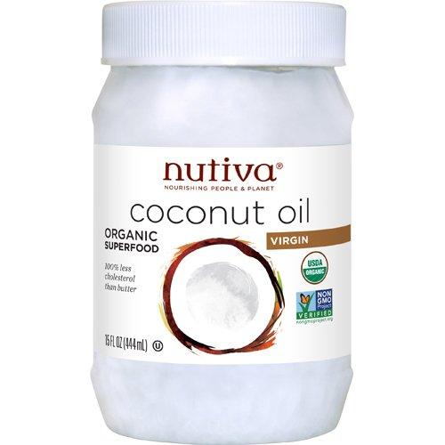 ニュティーバ オーガニック バージンココナッツオイル 408g 健康食品 健康油 中鎖脂肪酸 [並行輸入品]