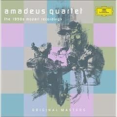 アマデウス弦楽四重奏団 1950年代モーツァルト録音集の商品写真