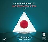 Mozart: Les Mysteres d'Isis by Le Concert Spirituel