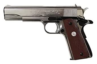 COLT GOVERNMENT SERIS'70 Silver ABS (モデルガン完成品)