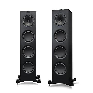 KEF q750 Floorstanding Speaker (各、サテンブラック) Q750B